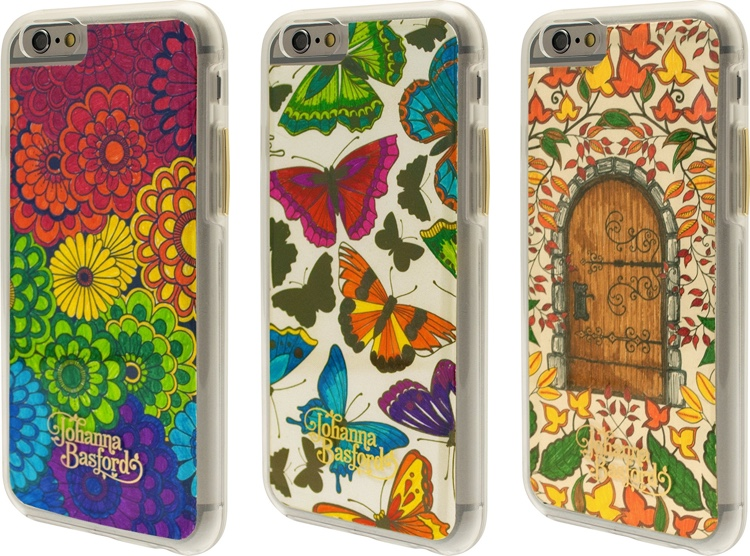 Super Unique Gift Idea DIY Secret Garden Coloring Case For IPhone