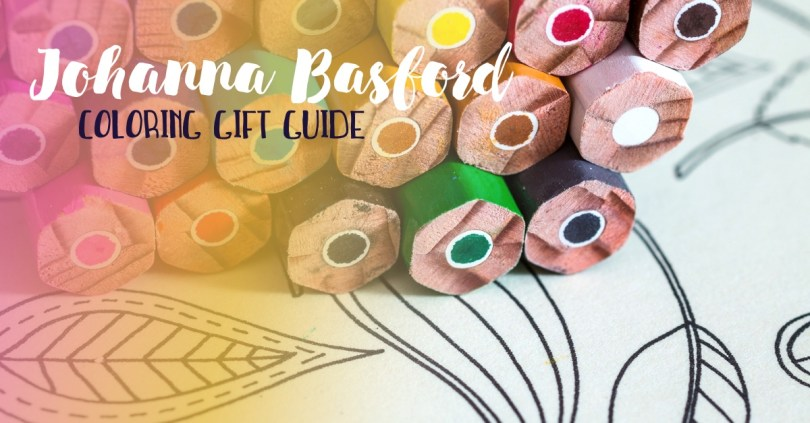 Johanna Basford's many coloring books and other coloring products make great gifts for new and experienced colorists!
