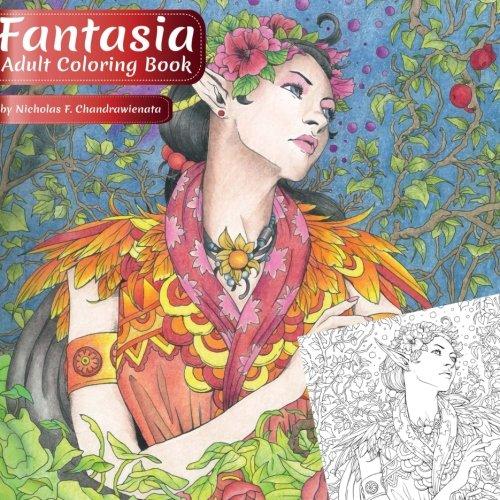Fantasia: Adult Coloring Book