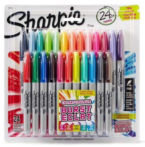 Sharpie Color Burst Permanent Markers