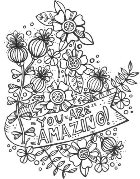 Hello Happiness: An Adult Coloring Book to Live Your Happily Ever After