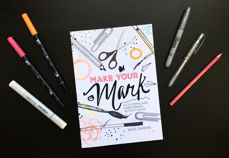 Take a closer look at this new adult coloring book by Oh So Suite! Make Your Mark: A Coloring and Mark Making Activity Book is a new kind of coloring that gives you a greater chance to express yourself! Learn all about mark making and why it is a fun and freeing style of art.