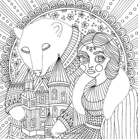 Fairy Tales Coloring Book (Published in Sweden as