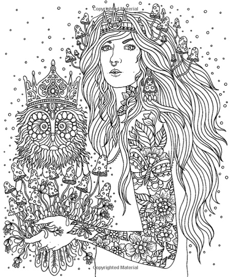 Magical Dawn Coloring Book Published In Sweden As
