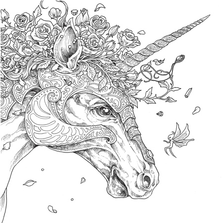 mythomorphia an extreme coloring and search challenge - Challenging Dragon Coloring Pages