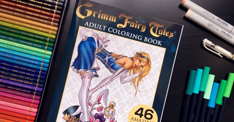 Love the Grimm Fairy Tales coloring book? Click to learn more about the awesome Kickstarter they are running RIGHT NOW and learn how to win a boxed set of their coloring books!