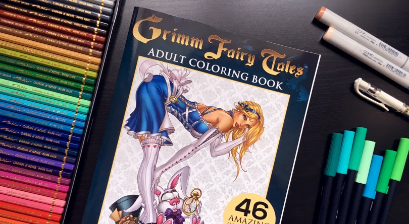 Zenescope + Cleverpedia Coloring Book Giveaway
