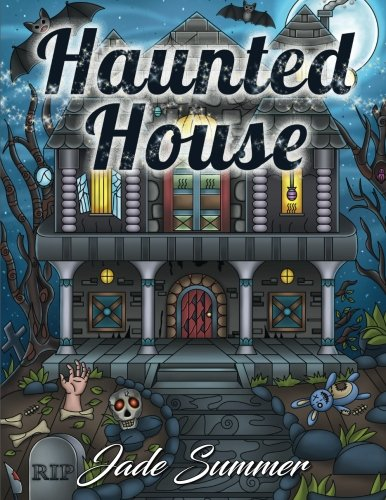 Haunted House: An Adult Coloring Book with Gothic Room Designs
