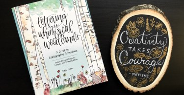 Lettering in the Whimsical Woodlands Review & Giveaway