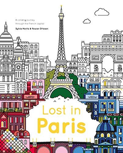 Lost in Paris: Color Your Way Around the City
