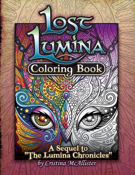 Lost Lumina Coloring Book
