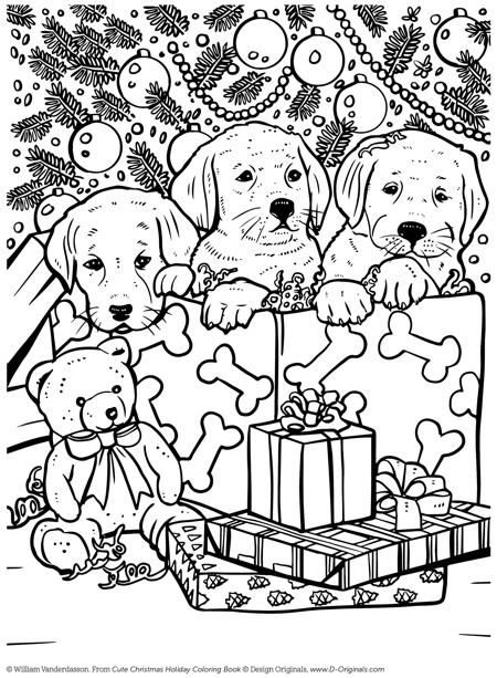 22+ Christmas Coloring Books to Set the Holiday Mood | christmas coloring pages  book