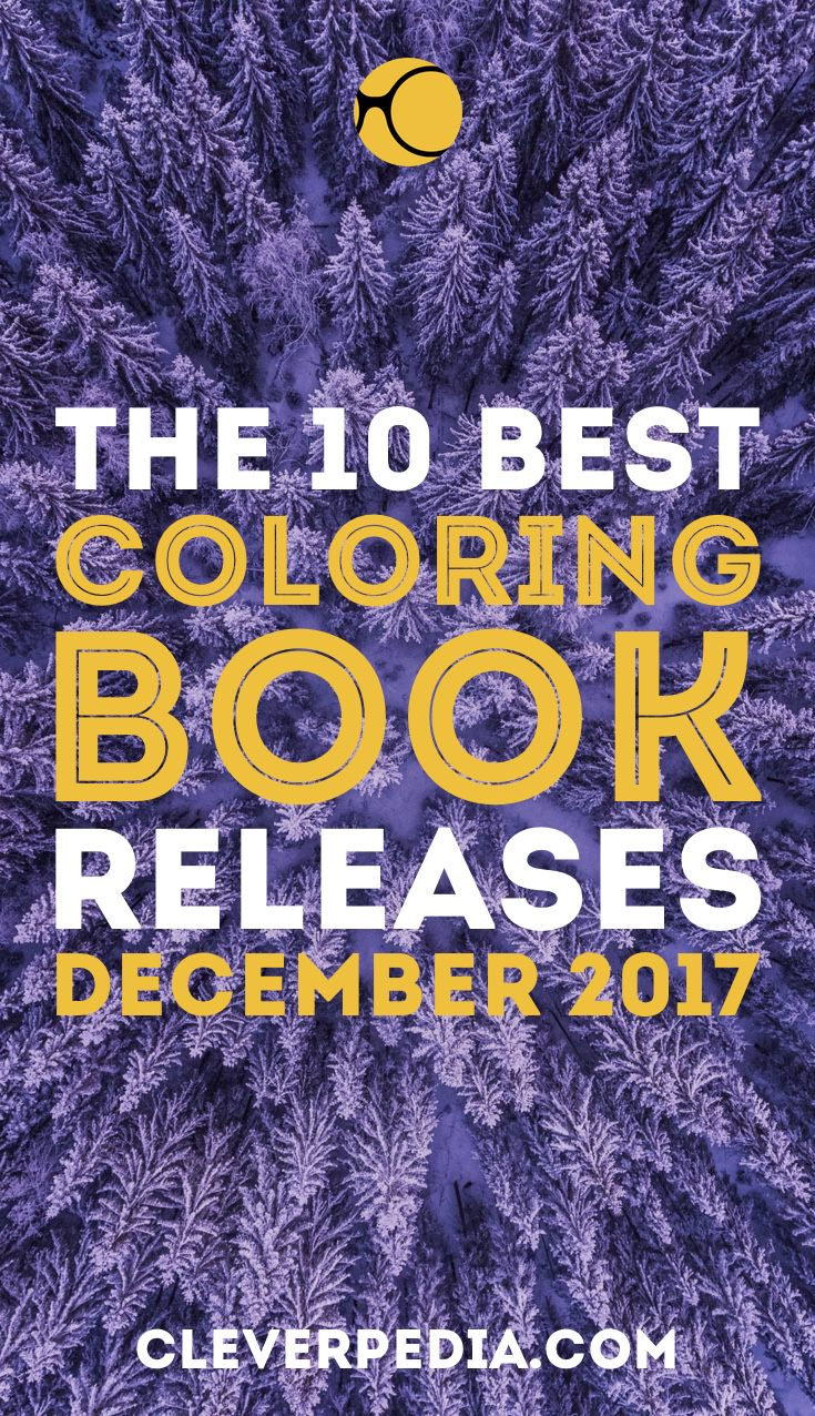 Hottest new coloring book releases in December 2017! You know I'm excited about the new Harry Potter adult coloring book!