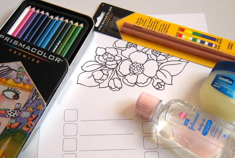 Colored pencil blending techniques: materials to start blending with colored pencils!