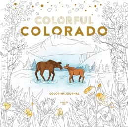 Featured new coloring book release: Colorful Colorado Coloring Journal by Amanda Lenz