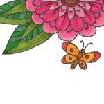 Ligia Ortega, Coloring Book Artist