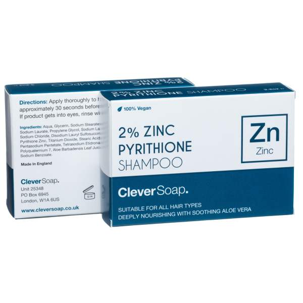 zinc shampoo box double
