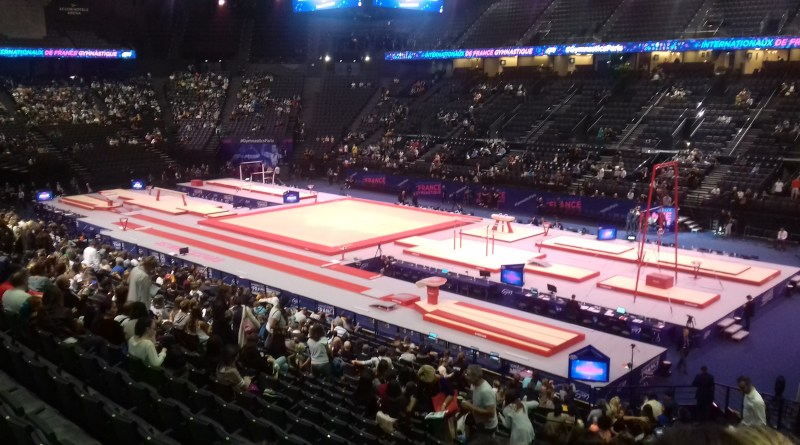 Sortie de l'AS gym aux internationaux de gymnastique à Bercy