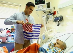 Magician from Magic Aid at Stony Brook Children's Hospital