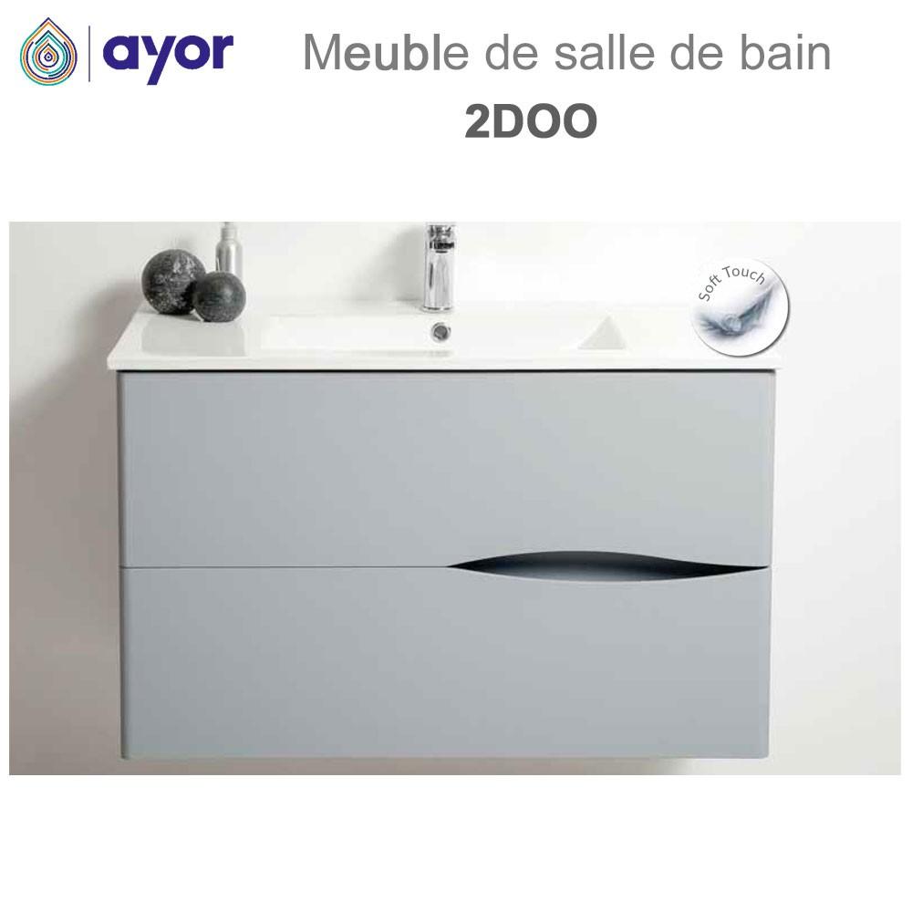 meuble de salle de bains a suspendre 2doo