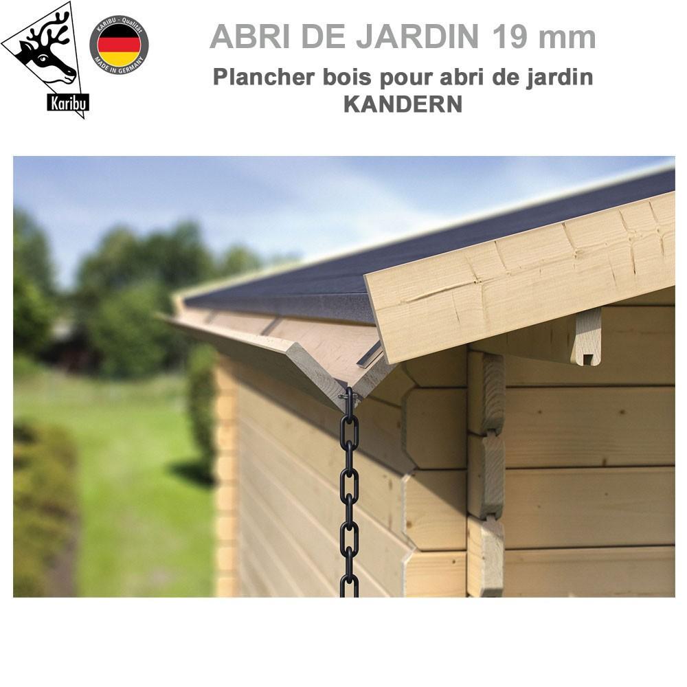 gouttiere bois pour abri a toit plat kandern