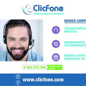 télésecrétariat ClicFone