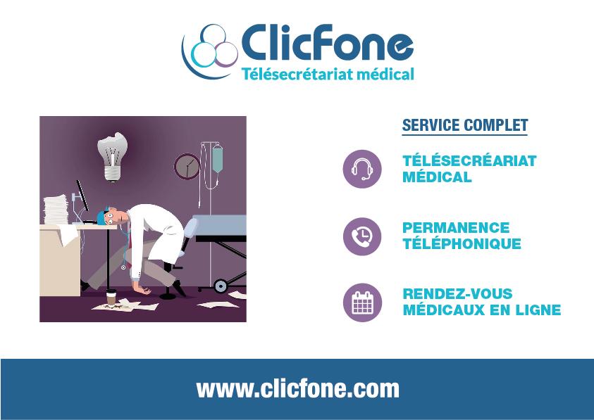 ClicFone Télé-secrétariat Mérignac