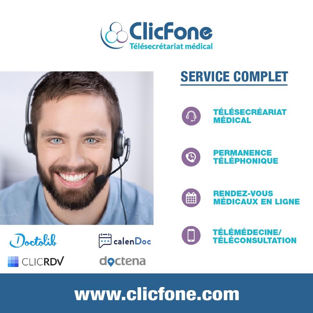 ClicFone Télésecrétariat Sauternes