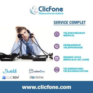 ClicFone Secrétariat téléphonique