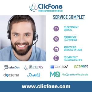 ClicFone Secrétariat téléphonique Bayonne