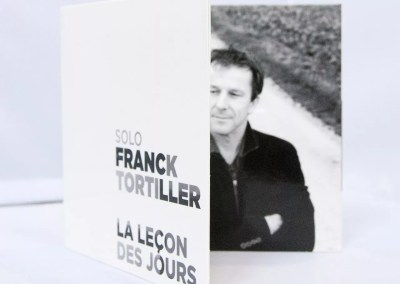 Franck Tortiller | Conception et fabrication packaging Album CD + Visuel promo