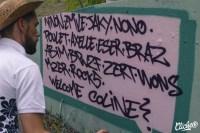 Welcome Coline - Graffiti Mural Chambéry - 2015-31