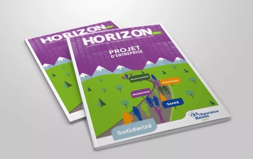 Conception graphique de brochure institutionnelle |CPAM