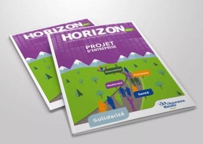 Conception graphique de brochure institutionnelle |CPAM