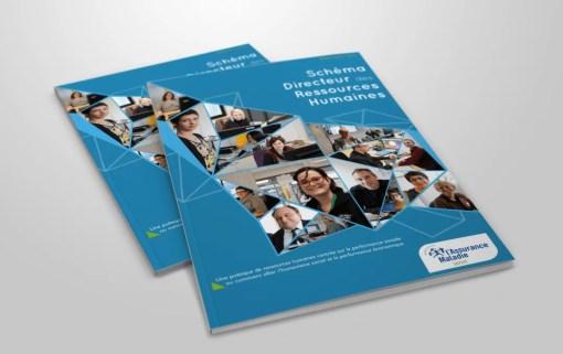 Mise en page de brochure – CPAM de savoie
