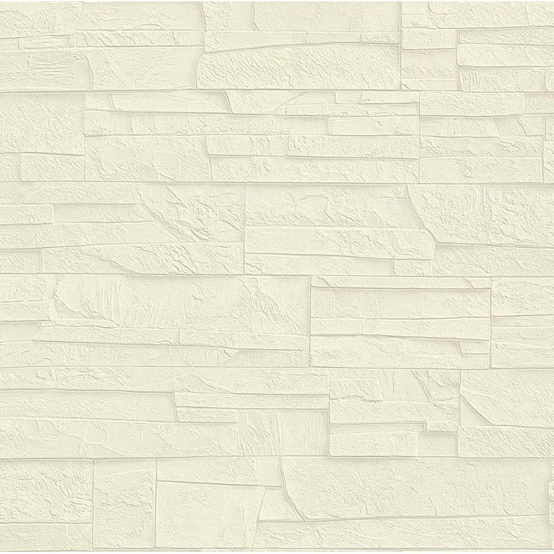 papier peint effet mur de pierre beige collection factory iii rasch