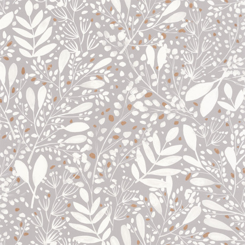 papier peint joy gris blanc or green life caselio gnl101699002