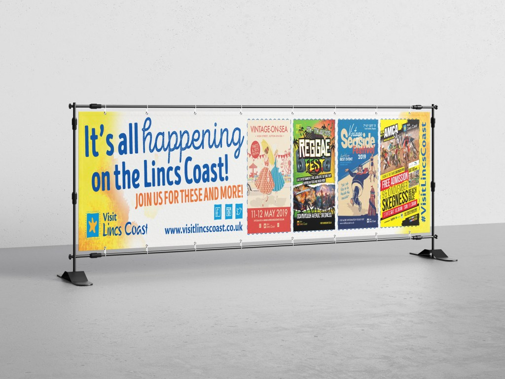 Visit Lincs Coast What's On Banner