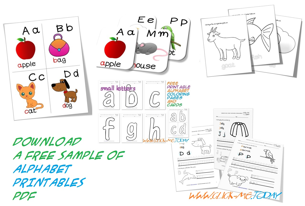 Download 20 Free Alphabet Printables Abc Printable In