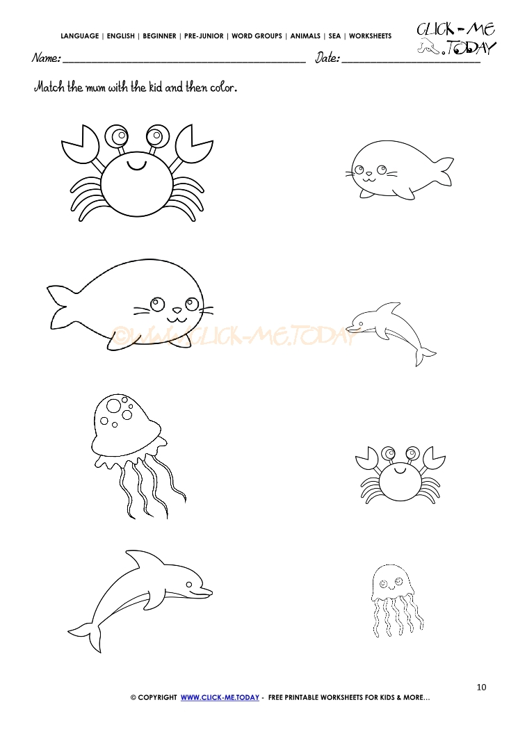 Arctic Sea Animals Coloring Pages. Arctic. Best Free