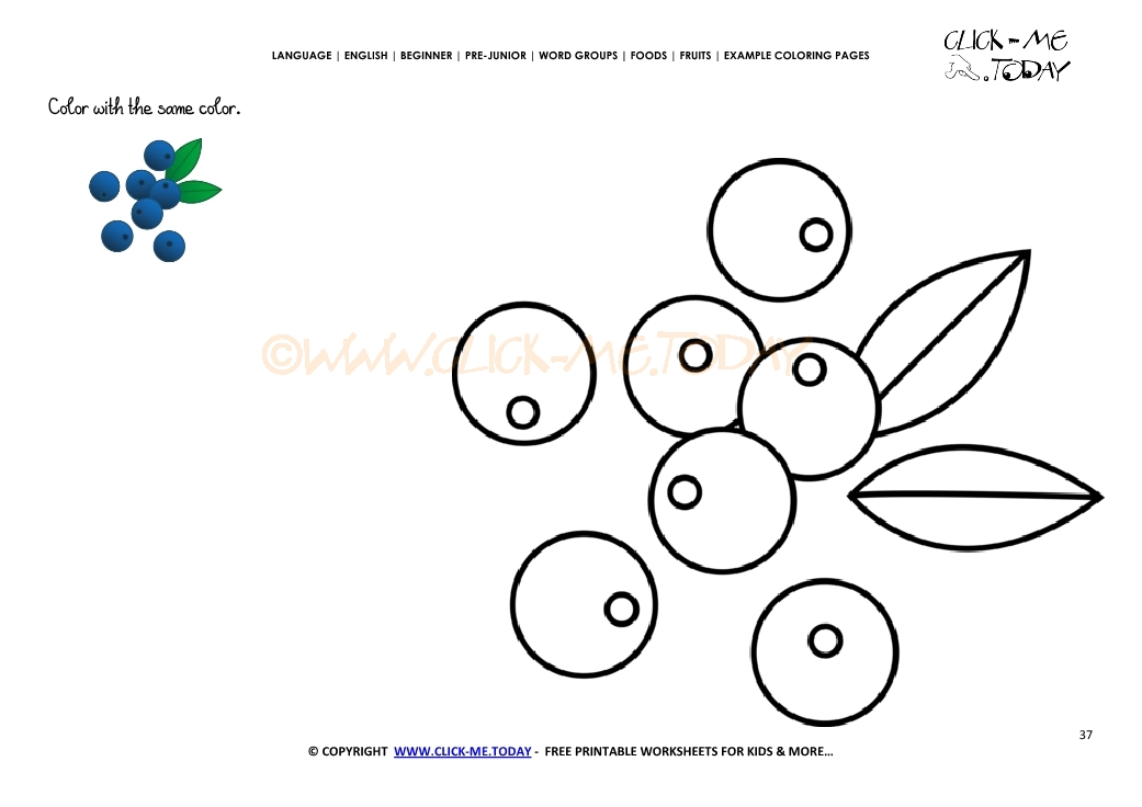 Page Example Coloring Pages