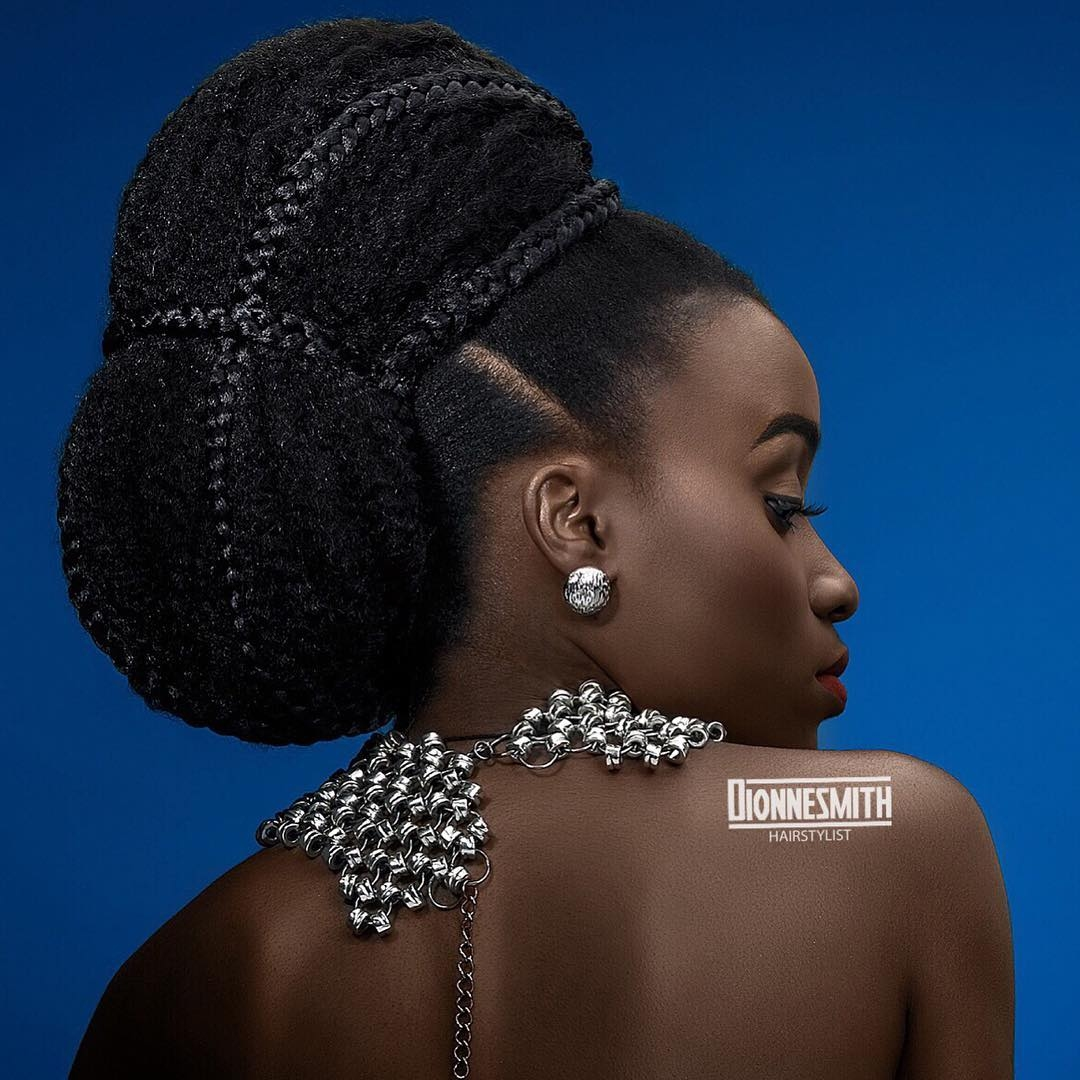 Bridal Hairstyles 41 Wedding Hairstyles For Black Women Click042