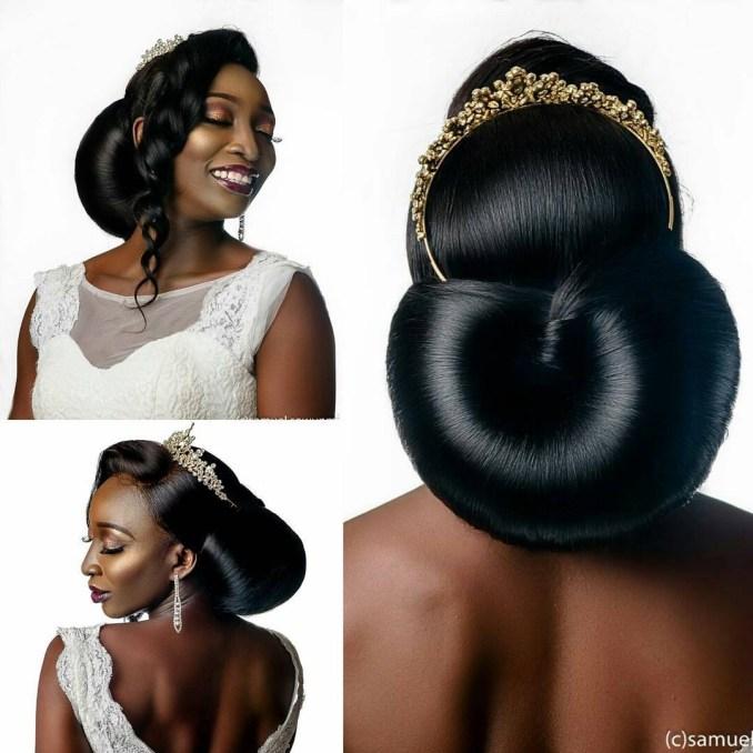 bridal hairstyles: 41 wedding hairstyles for black women