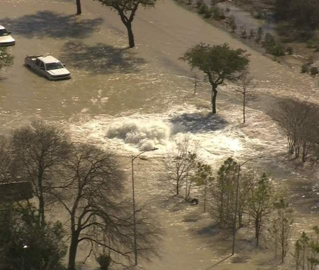 Houston Uh Finds A Way Social Media Reacts To Flood Caused By