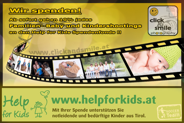 Help for Kids Aktion