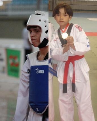 taekwondo michel e Edward