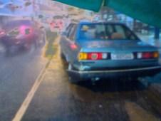 Veículo invade Restaurante na Avenida Atlântica