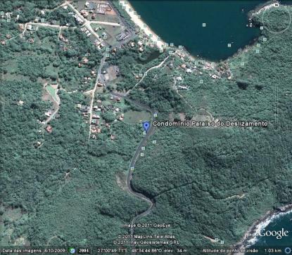 Imagem de satélite Goolge Earth
