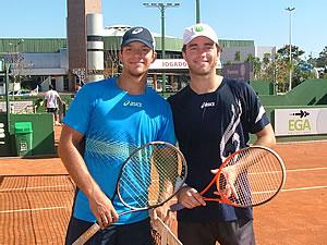 Bruno Santanna e Eduardo Dischinger - Foto: Marcelo Roggia