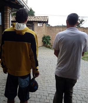 Pai e filho foram internados por uso de drogas. Foto: Núcleo / Divulgação